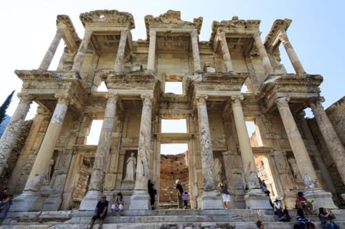 Biblioteca de Celso, en Éfeso (Turquía) / Ron Watts